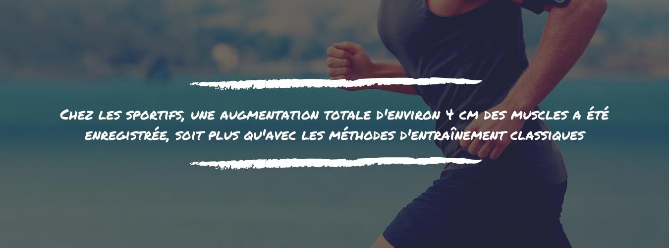 Les personnes en surpoids ont perdu en moyenne 3.5kg et 9% de graisse corporelle, ainsi que 6.5cm de tour de taille et 2cm de tour de bras après 13 semaines (1)
